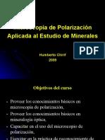 MICROSCOPIA DE LUZ POLARIZADA DE ROCAS EN SECCION DELGADA CLASE 1