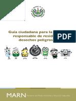 Guía Ciudadana Para La Gestión Responsable de Residuos y Desechos Peligrosos El Salvador