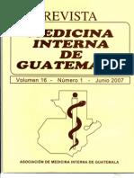 Dr Wilfredo Stokes Trabajo Fiebre Reumatica  Guatemala MEDICINA INTERNA PRIMER LUGAR