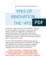 4ps of Innovation