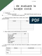 Evaluare EC - Lucruri