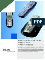 Siemens Hicom 150E e 3000 Dect e Outras Conexões HiPath HG1500 Interface IP