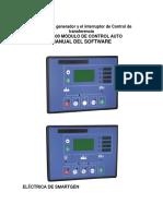 Unidades de Generador y El Interruptor de Control de Transferencia