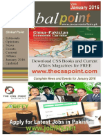Global Point Current Affairs - January 2016