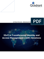 IDoT is Transforming Identity and Access Management (IAM) Solutions