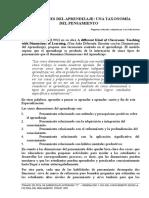 Dimensiones Del Aprendizaje Una Taxonomia Del Pensamiento]