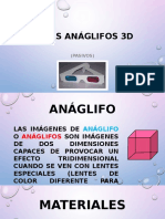 GAFAS ANÁGIFLOS 3D
