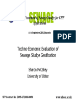 Evaluation economic gasification