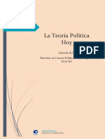La Teoria Politica Hoy