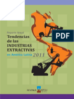 Revenue Watch Institute - Tendencias de Las Industrias Extractivas en América Latina 2011