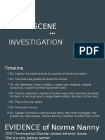 crime scene presentation  2
