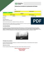 NTP 72 Trabajos Con Elementos de Altura en Presencia de Líneas Eletricas Aereas