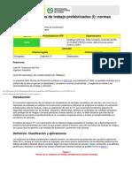 NTP 669 Andamios de Trabajo Prefabricados (I) - Normas Constructivas