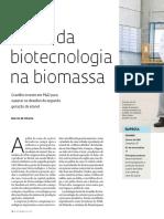 A Vez Da Biotecnologia Na Biomassa