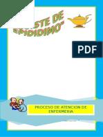 Proceso de atencion de enfermeria de Epididimo