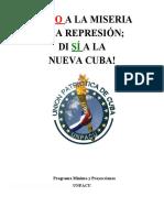 Proyecto político de UNPACU