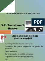 De La Teorie La Practica- Practica