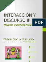 Interacción y Discurso III