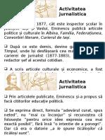 Eminescu Publicistica