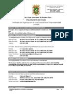 Uber Puerto Rico - certificado de incorporación como LLC