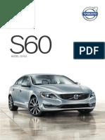 Volvo 2015 5 S60 Brochure v2