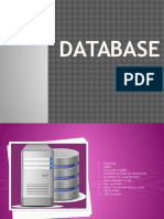 Outline of Database
