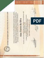 Certificado Engenharia de Produção