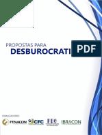Propostas Para a Desburocratização - Fenacon, Ibracon, CNC e FBC