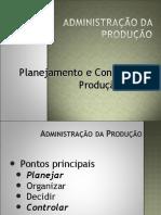 Adm. Produção v PCP