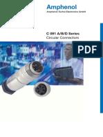 Conectores serie 091C