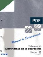 Manual Electricidad Carroceria Medidores Electronica Sistemas Luces Seguros Averias Toyota