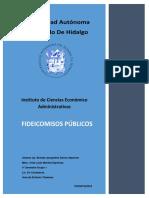 FIDEICOMISOS PUBLICOS
