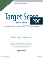 Target Score for dfsdfsdfsNew Toeic Test2 Stdnt Bk Test Bklt With Audio Cds Answer Key Frontmatter