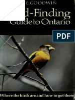 A Bird-finding Guide to Ontario