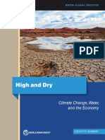 Climate Change, Water and Economy / World Bank Group