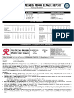 05.05.16 Mariners Minor League Report