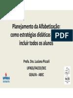 Luciana Piccoli - Ceale Debate