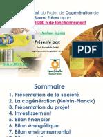 Cogénération Slama Frères Bilan 28 000h
