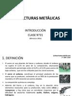 Clase N°01_ Estructuras Metalicas_ 08.03.2016