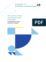 Who trains in small and medium-sized enterprises.pdf