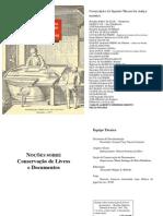 Noções Sobre Conservação de Livros e Documentos
