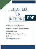 Pedofilia en Internet Proyecto