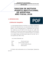 1. Presupuesto 2016 Exposición de Motivos AUCALLAMA (1).doc
