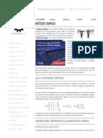 Método Simplex - Ingeniería Industrial
