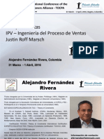 Alejandro Fernandez_Sales_24 TOCPA_31 March-1 Apr 2016_Bogota, Colombia_Spanish