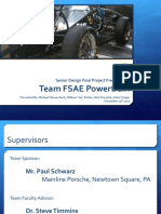 FSAE Drivetrain Final Presentation