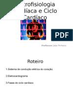 Aula - Eletrofisiologia Cardíaca e Ciclo Cardíaco