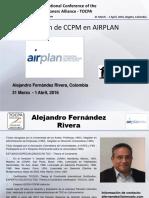 Alejandro Fernandez_CCPM_24 TOCPA_31 March-1 Apr 2016_Bogota, Colombia_Spanish
