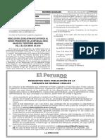 Normas Legales Del Dia 04 de Mayo 2016