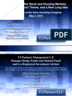 T2 Partners Presentation-Value Investing Congress-5/5/10